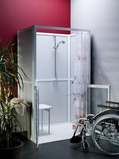 s r habitat vous tes un particulier cabines de douche. Black Bedroom Furniture Sets. Home Design Ideas